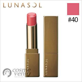 【ゆうパケット・定形外】LUNASOL ルナソル フル グラマー リップス #40 Soft Red Rose 3.8g
