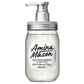 アミノメイソン ディープモイスト ホイップクリーム シャンプー 450ml