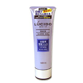 【価格据え置き】5%還元 ルシード 白髪用整髪ジェル (ヘアグロス・ブルージェル) 130g LUCIDO mandom