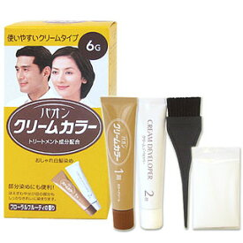 【価格据え置き】5%還元 パオン クリームカラー おしゃれ白髪染め 6G 自然な褐色 Schwarzkopf&Henkel PAON
