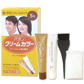 【価格据え置き】5%還元 パオン クリームカラー おしゃれ白髪染め 5G 深みのある栗色 Schwarzkopf&Henkel PAON