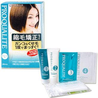 PROQUALITE utena Procrit curly hair straightening set (for short hair piece) *