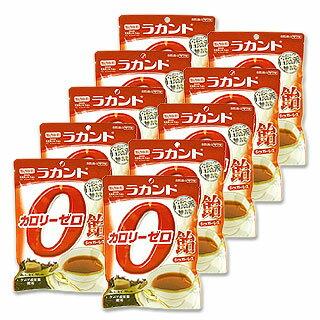 ●在庫限り サラヤ ラカント カロリーゼロ飴 薫り紅茶味 48g×10個セット saraya lakanto【今だけポイント10倍】
