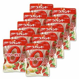 ●在庫限り サラヤ ラカント カロリーゼロ飴 いちごミルク味 48g×10個セット saraya lakanto【今だけポイント10倍】