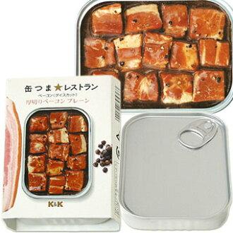 国分 K&K 罐头小菜 餐厅培根(切粒) 厚切培根 普通 净重65g(总重量105g)