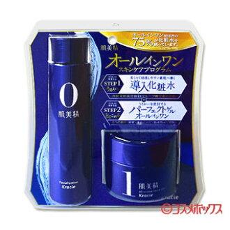 クラシエ 피부 미용 정 단순 관리 올인원 스킨케어 프로그램 세트 퍼펙트 젤 올인원 (의 약 부 외 품) 100g + 소개 로션 150ml HADABISEI Kracie *