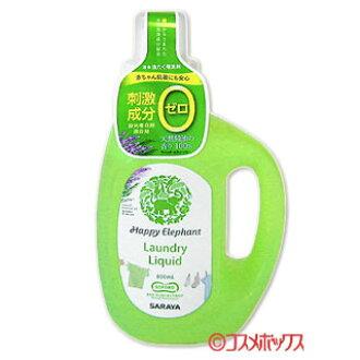 液洗洗涤剂 800 毫升快乐大象风味风味快乐大象 *