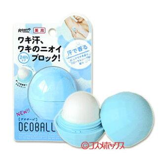 Rohto 医学 dobol 肥皂花香 15 g DEOBALL ROHTO *