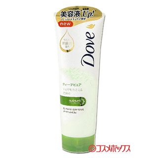 ダヴ ディープピュア洗顔料 130g Dove ユニリーバ(Unilever)
