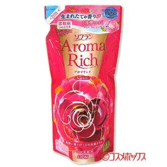 狮子织物柔软剂香气丰富猩红色的快乐 frutiaroma 香味笔芯为 450 毫升香气丰富狮子 *