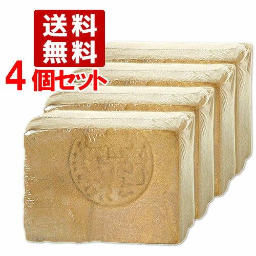 ●送料無料 4個セット アレッポの石鹸 ノーマル aleppo
