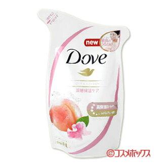 [포인트 10 배 ~ 10 월 31 일 23:59] 유 니 레버 도브 바디 워시 복숭아 및 달콤한 완두콩 つめかえ 용 360g Dove Unilever