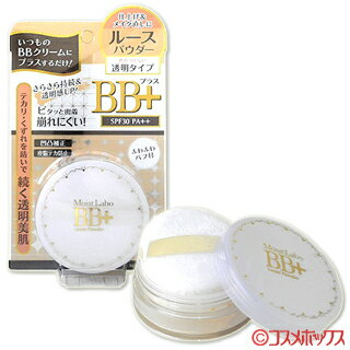 明色 モイストラボ BB+ ルースパウダー (SPF25 PA++) 透明タイプ BB+ Loose Powder Moist Labo MEISHOKU