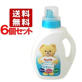 ファーファラボ(FaFa LAVO) 液体洗剤 香りひきたつ無香料 本体 1.0kg 6個セット【送料無料】