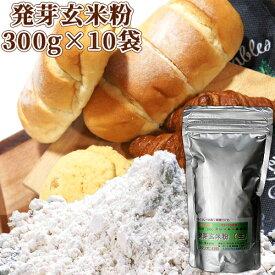 5%還元 【送料無料】大分県産 発芽玄米粉(生) 3000g(300g×10袋) スタリオン日田