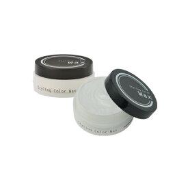 スタイリングカラーワックス(Styling Color Wax) プラチナシルバー 80g ビナ薬粧