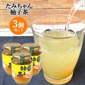トーストもいいけどお湯割りも 柚子茶 220g×3 森食品【送料無料】