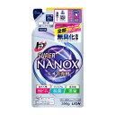 5%還元 トップ スーパーNANOX(スーパーナノックス) ニオイ専用 詰替え 350g ライオン(LION)