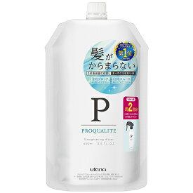 5%還元 プロカリテ まっすぐうるおい水 寝ぐせ直しウォーター つめかえ用約2回分 400ml ミルクinウォーター ヒートプロテクト PROQUALITE ウテナ(utena)