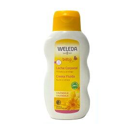 【あす楽】 定形外なら送料220円〜 WELEDA ヴェレダ カレンドラ ベビーミルクローション 200ml ( 全身用乳液 / 保湿乳液 / ベビー用 )(4571241157717)(4571241158370) 並行輸入品 『4』
