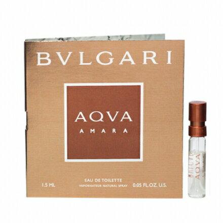 BVLGARI ブルガリアクア アマーラ 1.5mlメール便OK(定形外)全国210円