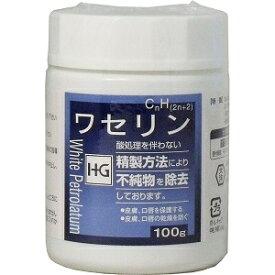 [3個セット]皮膚保護 ワセリンHG 100g(大洋製薬)[宅配便]E4975175023214 化粧用油 白色ワセリン 敏感肌
