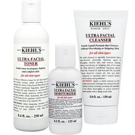 キールズ お得!クレンザーUFC/トナーUFT/モイスチャライザーUFMのセット   洗顔料・クレンジング 洗顔フォーム Kiehl's 39ショップ サンキュー