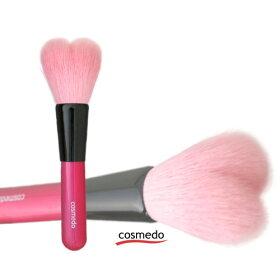 熊野筆/化粧筆/熊野化粧筆/メイクブラシ/Pシリーズパウダーファンデーション用ブラシ(ピンク)