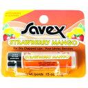 サベックス SAVEX リップクリーム スティック ストロベリーマンゴー 4.2g【サベックス リップ リップスティック 潤い …