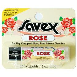 サベックス SAVEX リップクリーム スティック ローズ 4.2g
