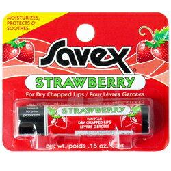 サベックス SAVEX ストロベリー リップクリーム スティック 4.2g