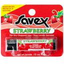 サベックス SAVEX ストロベリー リップクリーム スティック 4.2g【サベックス リップ リップスティック 潤い 保湿 …