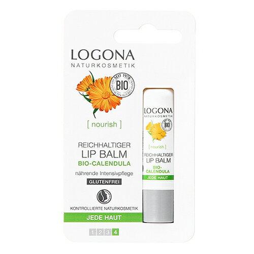 ロゴナ LOGONA リップクリーム キャレンデュラ 4.5g