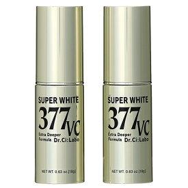 【セット】ドクターシーラボ Dr.Ci:Labo スーパーホワイト 377VC 18g 2個セット 美容液