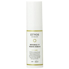 クーポン配布中!エトヴォス ETVOS ミネラルUVホワイトセラム SPF35 PA+++ 30g 医薬部外品