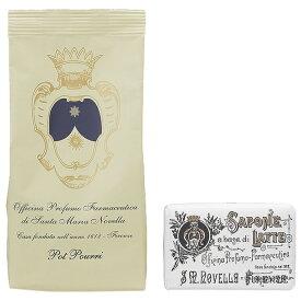 【セット】サンタマリアノヴェッラ Santa Maria Novella ポプリ レフィル 100g + ミルクソープ 100g cb26