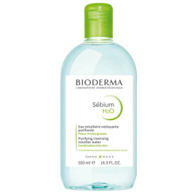 ビオデルマ セビウム H2O D(緑) 500ml クレンジングウォーター BIODERMA クレンジング [5851]送料無料 お得な500ml 敏感肌無香料 徹底的にやさしく手軽にケア!肌状態も向上!