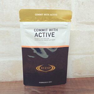 ライザップ コミット ウィズ アクティブ 16.2g(270mg×60粒) (アミノ酸含有加工食品)【栄養機能食品(亜鉛)】ALA配合 5-アミノレブリン酸リン酸塩配合 RIZAP COMMIT WITH ACTIVE