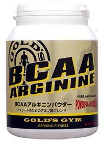 ゴールドジム BCAAアルギニンパウダー 400g (アミノ酸加工食品)
