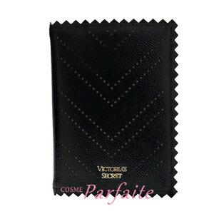 【在庫処分】ヴィクトリアシークレット ピンキングカット ブラック 雑貨 [パスポートケース]:【メール便対応】