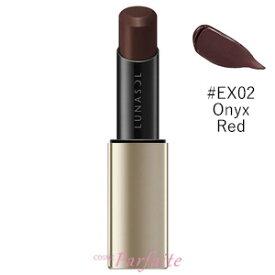 【在庫処分】ルナソル -LUNASOL- プランプメロウリップス #EX02 Onyx Red 3.8g[口紅]:【メール便対応】