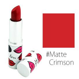 クリニーク ロングラスト ソフトマット リップスティック #Matte Crimson 【メイクアップ リップ 口紅】【CLINIQUE】【W_13】