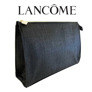 ランコム ブラックラメポーチ(001) 【LANCOME】【W_89】