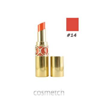 伊夫 · 圣 Laurent 胭脂 volubte 闪耀 # 14 Corail 联系 (唇膏、 口红)