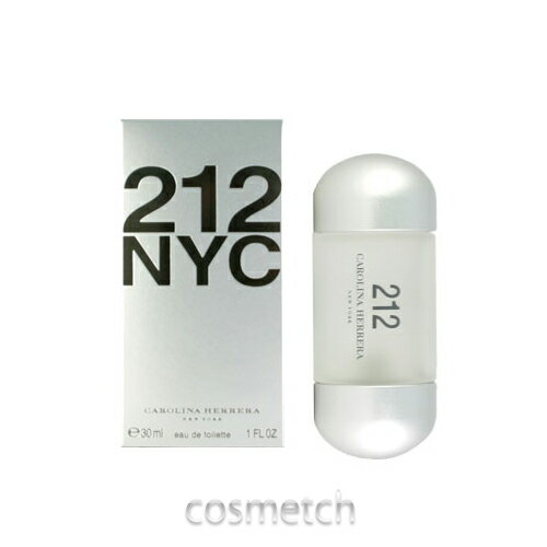 キャロライナヘレラ・212 EDT 30ml SP (香水) 【ネコポス不可】