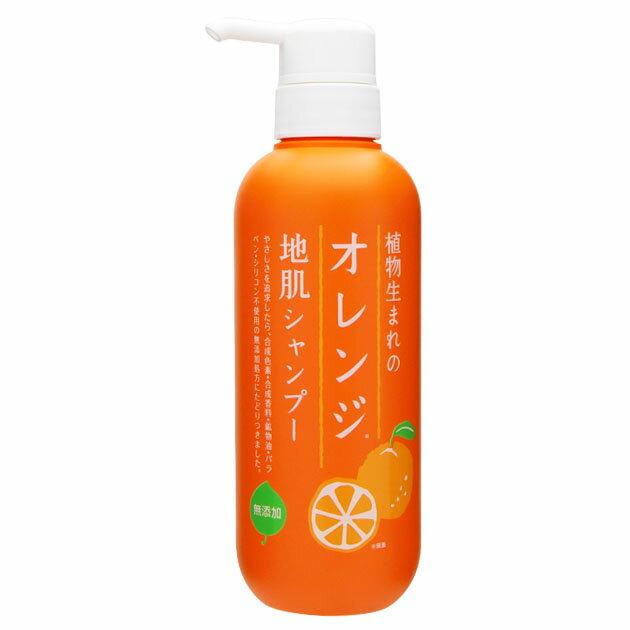 石澤研究所 植物生まれのオレンジ地肌シャンプーN 400mL【在庫処分】