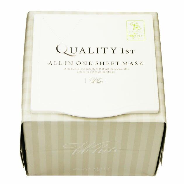 クオリティファースト QUALITY 1st オールインワンシートマスク ホワイトEX 30枚入 ※お一人様4個限り