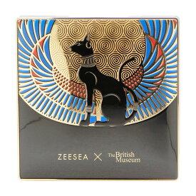 【ネコポス1点のみ可】ズーシー ZEESEA 大英国博物館エジプトシリーズ アイシャドウパレット 01 アンダーソンの猫(日没色)