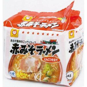マルちゃん 赤みそラーメン 5食入 販売エリア限定 インスタントラーメン