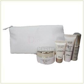 ディオール Diorカプチュール トータル サンプル ポーチ セット 4点 ホワイト
